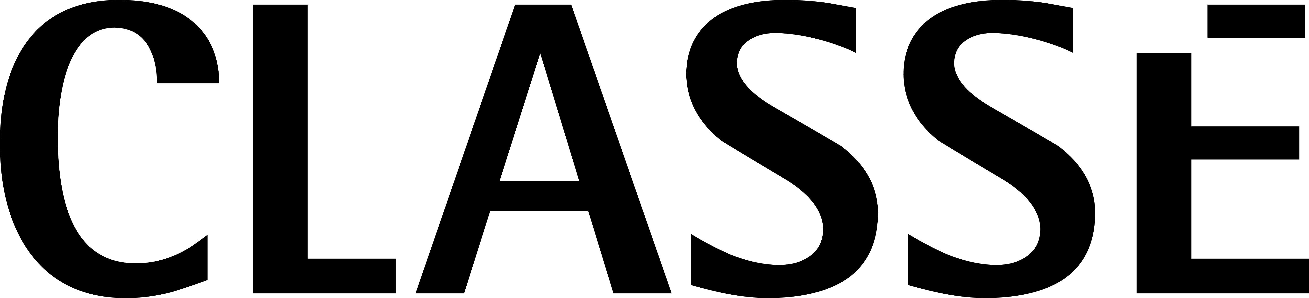 Classe NEW logo black
